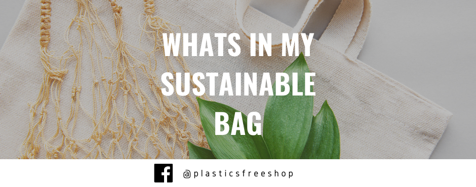 Whats in my sustainable bag