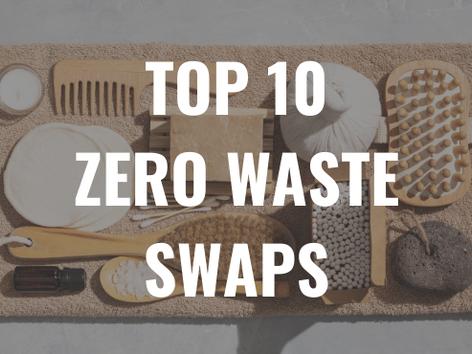 Top 10 Zero Waste Swaps