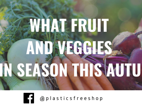 What Fruit and Veggies are in season this Autumn? (+ some recipes to try)