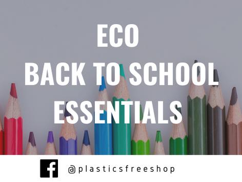 Eco Back To School Essentials