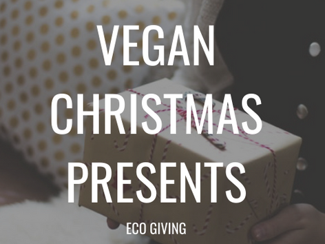 VEGAN Christmas Presents