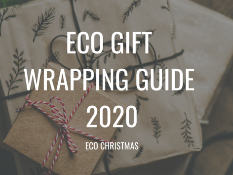 Eco Gift Wrapping Guide 2020