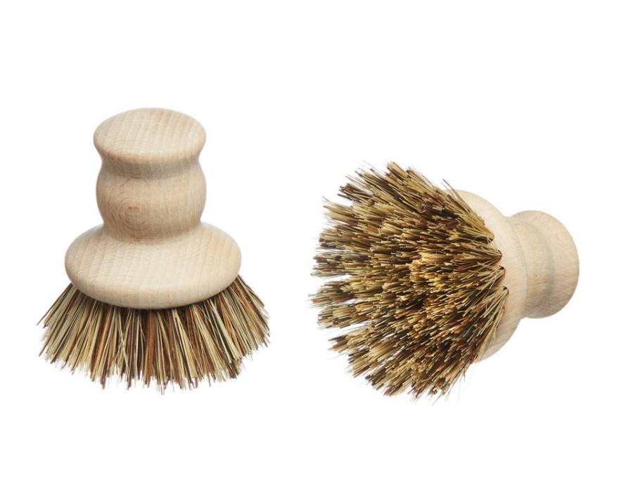 Wooden Pot Brush - ditch plastic in your kitchen
