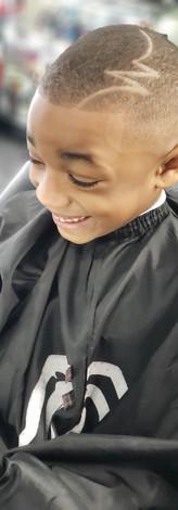 Bald Fade w/ Design