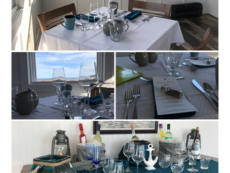 Dinner By The Sea....A Surprise Experience