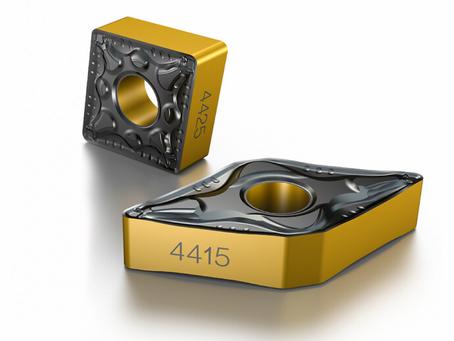 Nya hårdmetallskär för stålsvarvning