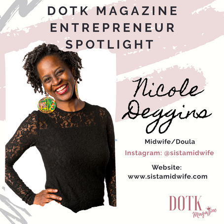 "FOUNDER OF ""The Art Of Birthing"": NICOLE DEGGINS"