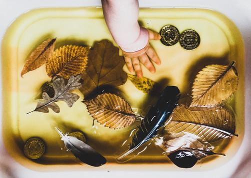 water play - Fall