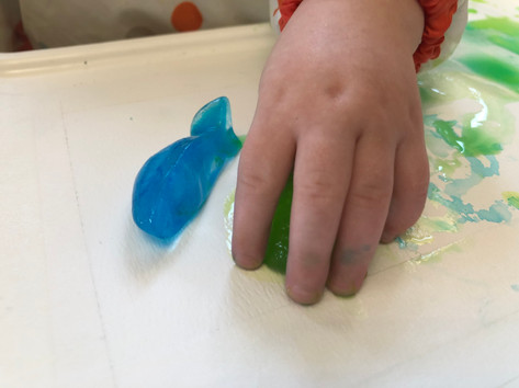 Painting with Ice!
