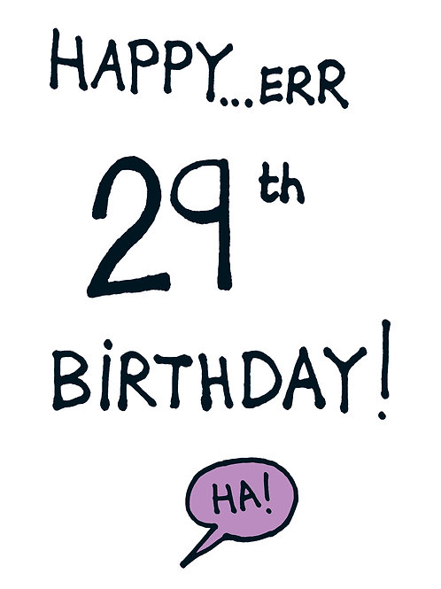 Happy Err 29th