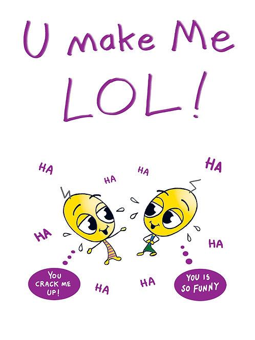 Lickle Alien -U Make Me LOL!