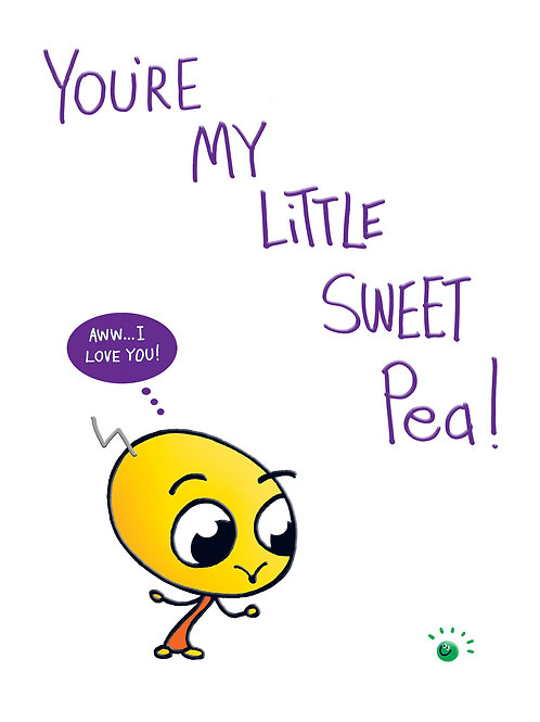 Lickle Alien - You're my little sweet pea!