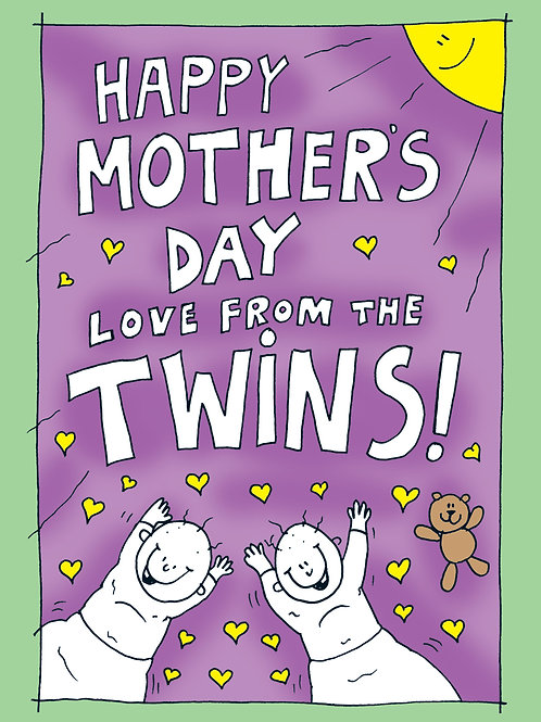 Mothers Day - Love From the Twins