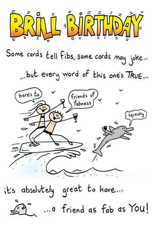 Silly Poem - Brill Birthday