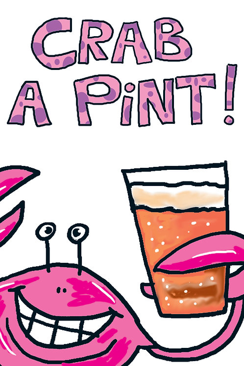 Funnymals - Crab a pint