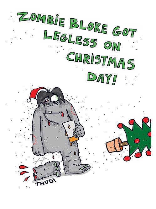 Christmas Zombie Bloke - Legless