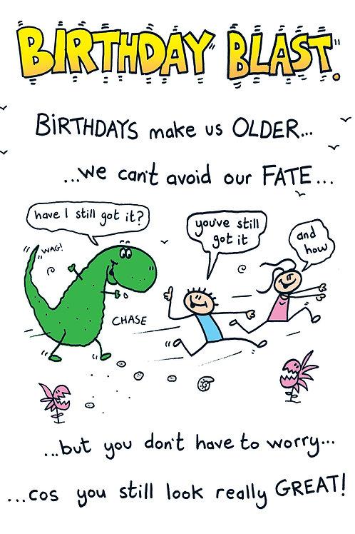 Silly Poem - Birthday Blast