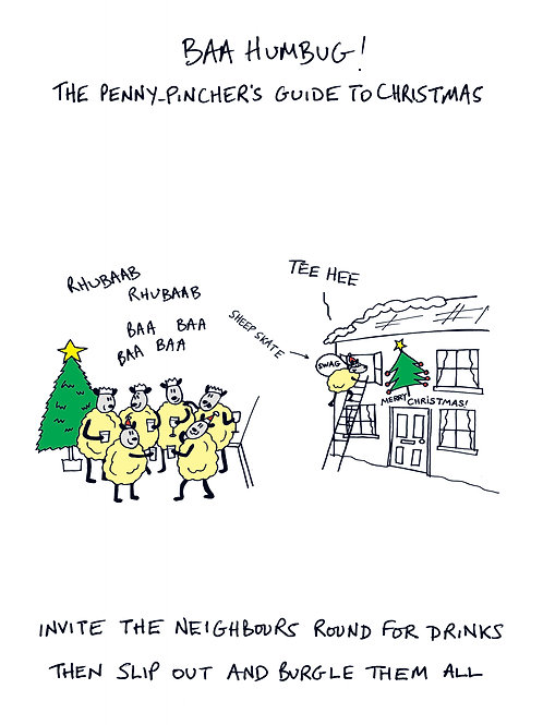 Baa Humbug - Invite the neighbours round for drinks