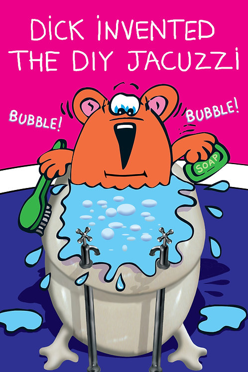 Dick the Dog - Invented the DIY Jacuzzi