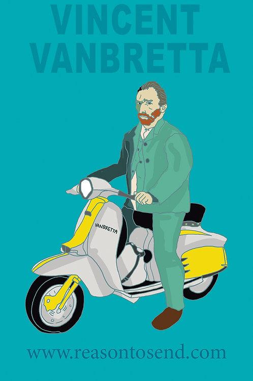 Green Vinny Lambretta