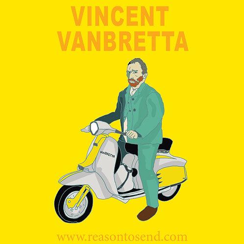 Yellow Vinny Lambretta