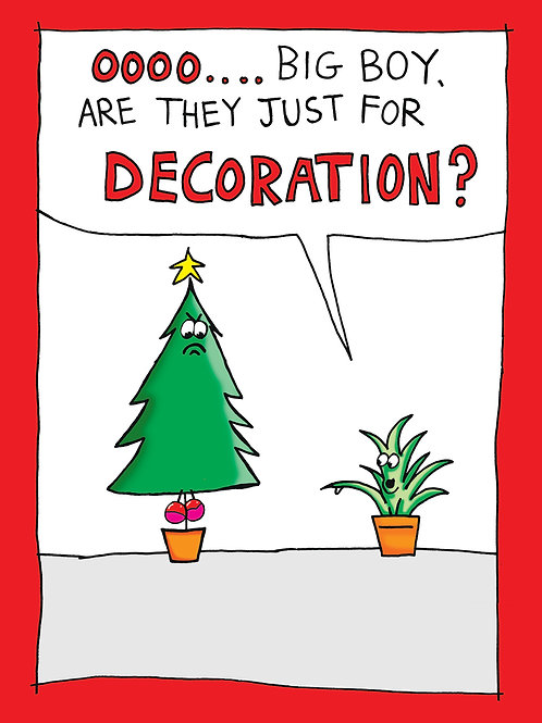 Are They Just for Decoration?