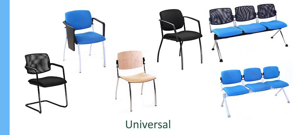 Sedie attesa Universal