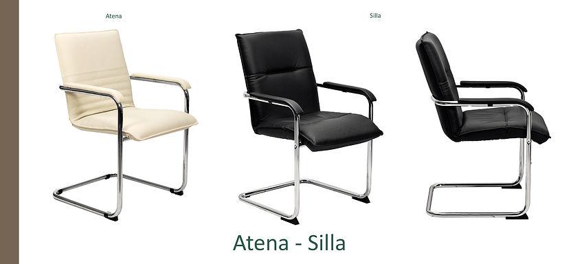 Poltrona attesa Atena Silla
