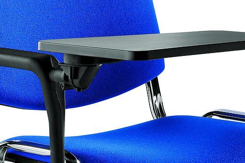 Bracciolo snodo e tavoletta per sedia conferenza