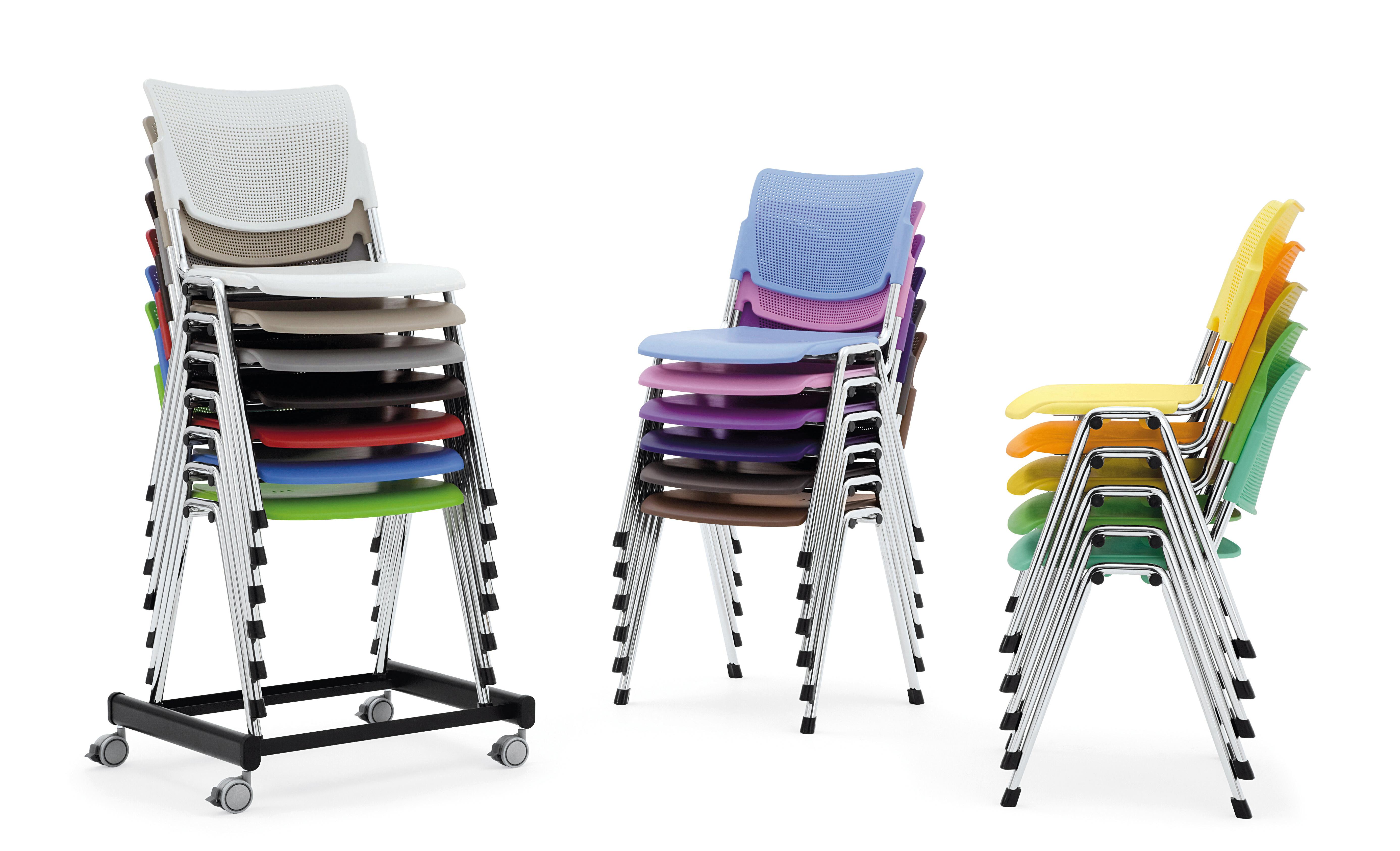 La Mia Plastic sedia colours