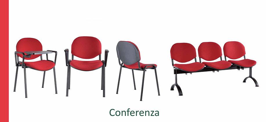 Sedia Conferenza per sale riunioni e sale conferenza