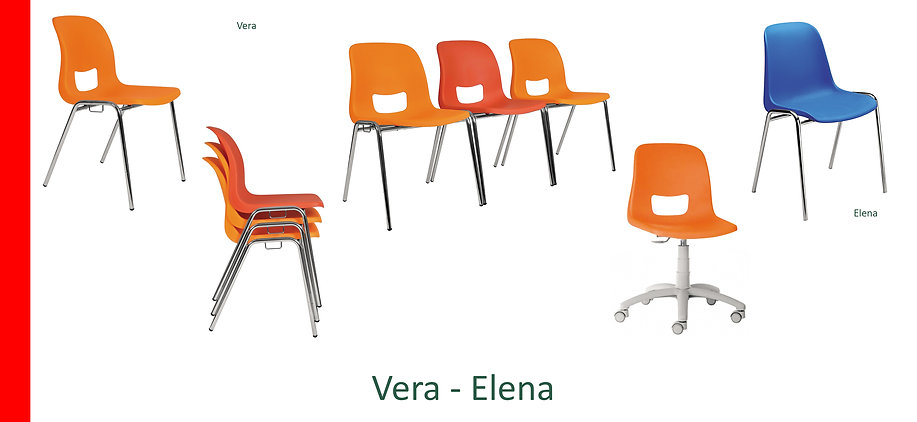 Sedia per conferenze Vera Elena