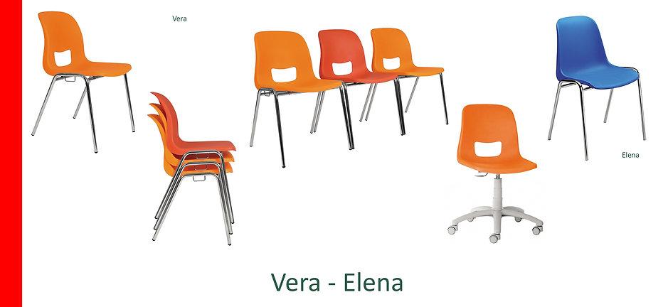 Sedie attesa Vera Elena