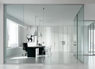 Newall parete in cristalloTime elegante e funzionale.