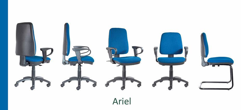 Poltrona operativa Ariel