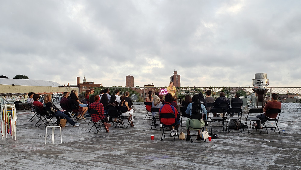 Brooklyn rooftop comedy