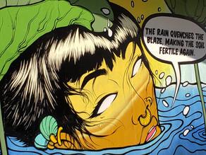 'Black Panther' Artist Creates New Mural Under Atlanta BeltLine
