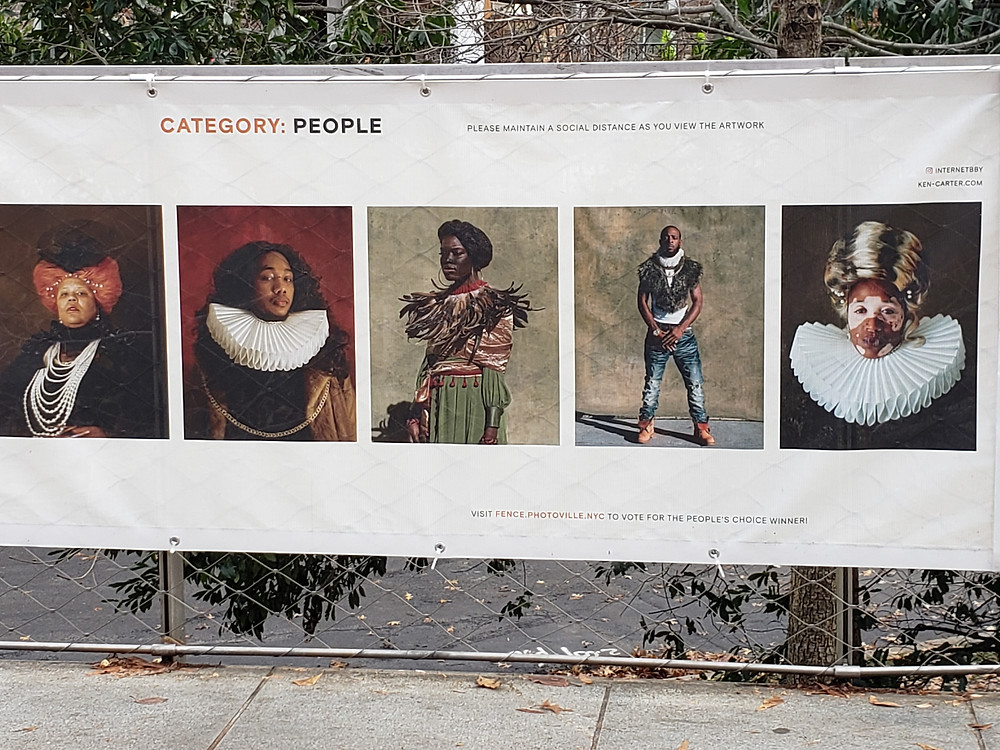Flex series by Kennedi Carter in the Photoville FENCE project
