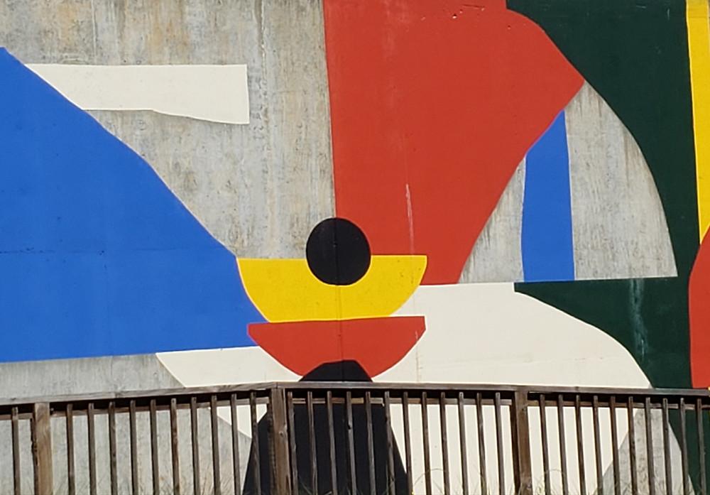 Mural by Hola Lou on the Atlanta BeltLine