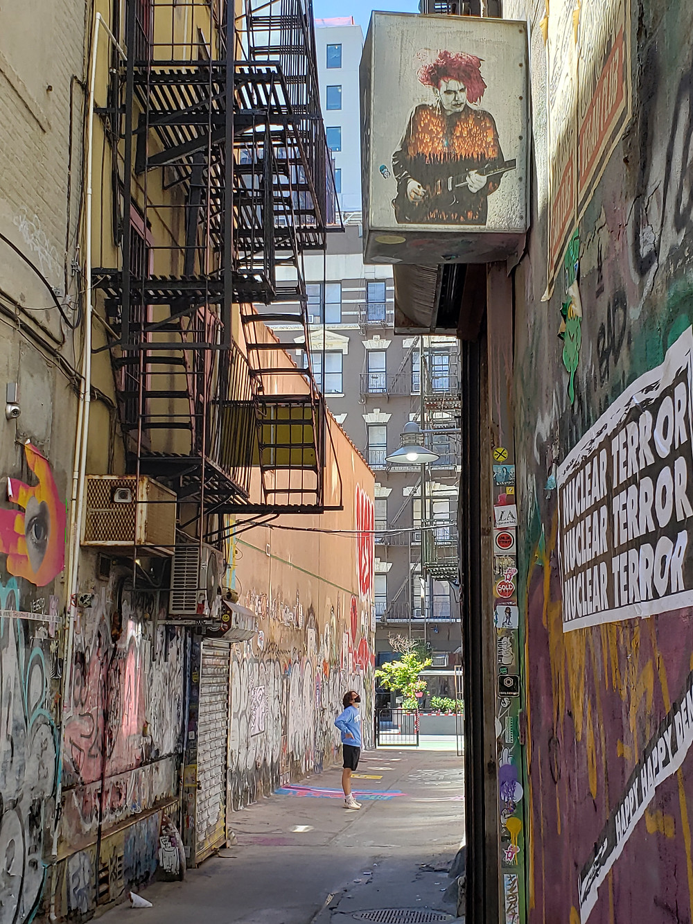 Lower East Side alley in New York