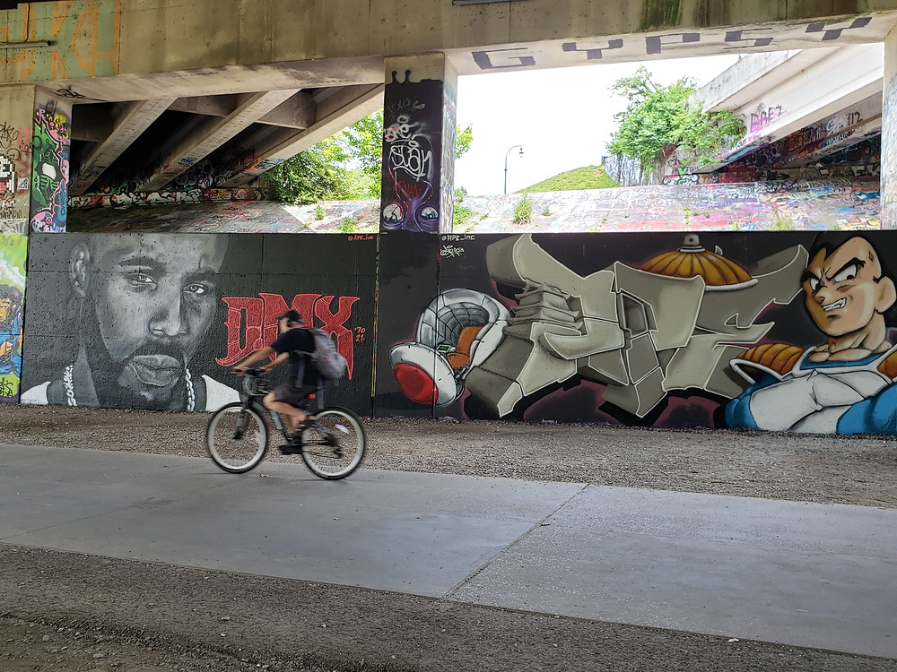 DMX mural and Atlanta street art on Atlanta BeltLine