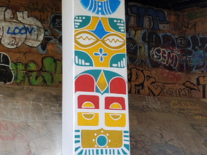 'One Nation' Art on Atlanta BeltLine