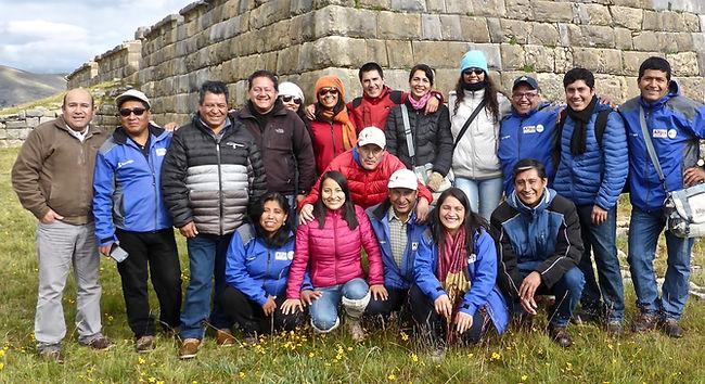 Equipo de la ONG Allpa Perú, para la cooperación y el desarrollo sostenible