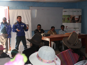 Iniciamos el módulo de formación de Producción de Queso Tipo Andino, en Huari y Cajay