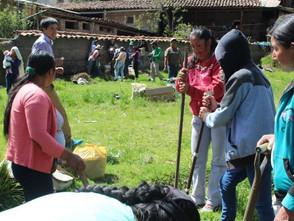 Lanzamiento del Módulo de Producción de Hortalizas Orgánicas en Huari.
