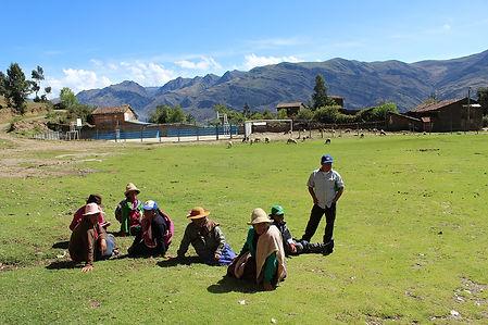 Desarollo sostenible en Ampas, ONG Allpa Perú