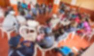 Reunión de la ONG Allpa Perú y capacitación con los beneficiarios del programma de desarrollo rural