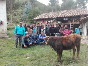 Alumnos del IESTP Daniel Villar realizan pasantía en Huari