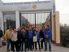 CON EL FORMAGRO, DOCENTES DEL IESTP ANTONIO RAIMONDI DE YANAMA, VISITARON  AL INSTITUTO DE EDUCACIÓN