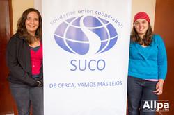 Miembros de la ONG canadiense SUCO